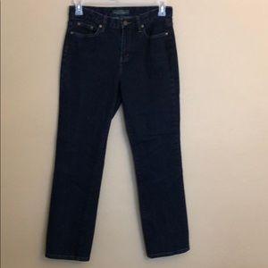 Lauren Jeans Company Classic Straight Jeans 6